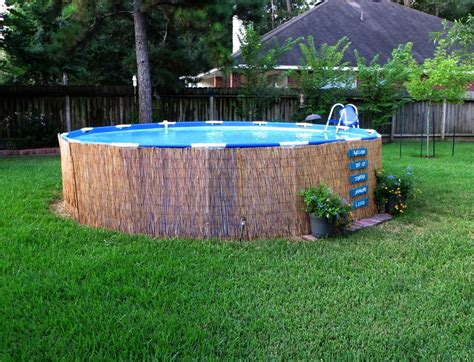 small backyard pools above ground for yards modern custom