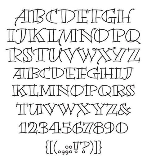 font design brief creative hand lettering alphabets creative hand