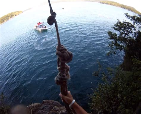 rope swing rope swings norris lake