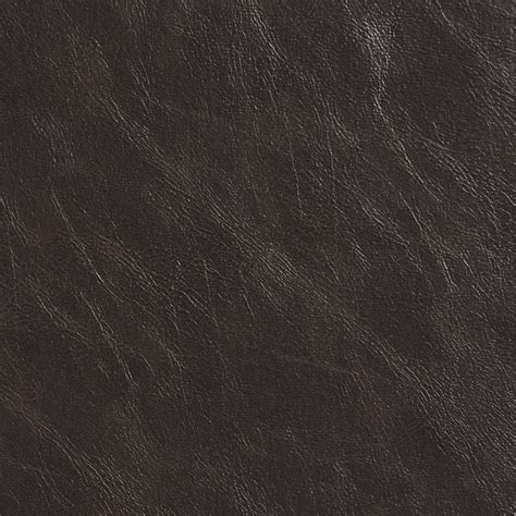 Espresso Vinyl Fabric - espresso distressed breathable leather look and feel