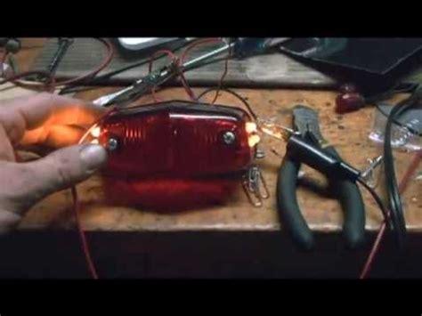 6 volt led lights motorcycle how to make 6 volt led motorcycle lights youtube