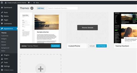 how to create a simple and responsive theme in wordpress