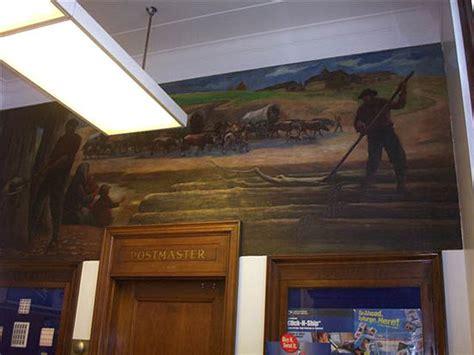 Shawano Post Office by Shawano Wi New Deal Wpamurals