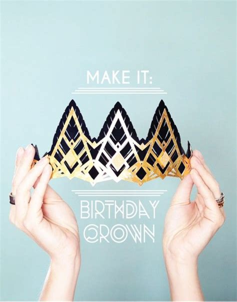 How To Make A Birthday Crown Out Of Construction Paper - 1000 images about cricut cards on s