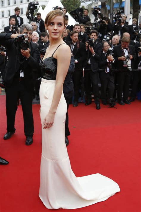 Is Watson To Be The New Of Chanel by Carpet Dress Pictures Of Watson Popsugar