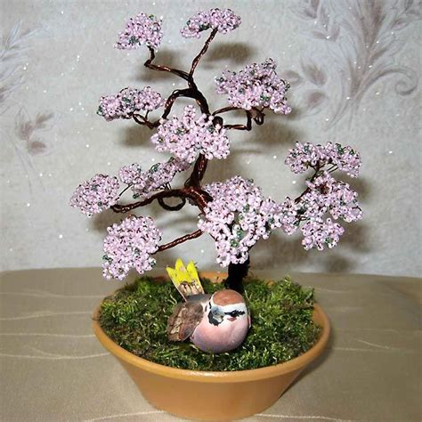 beaded tree 111 best images about bonsai beaded trees on
