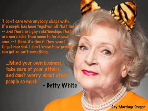 the randy report betty white on gay marriage