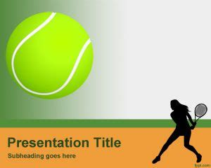 Tennis Powerpoint Template Tennis Powerpoint Template