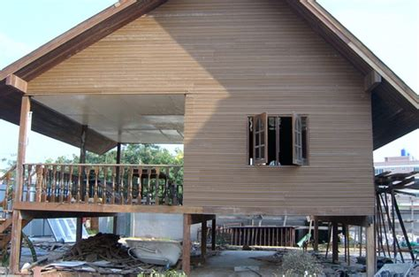 how to build an affordable house cheap thai house build