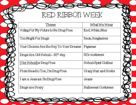 list theme days kindergarten korner october 2012