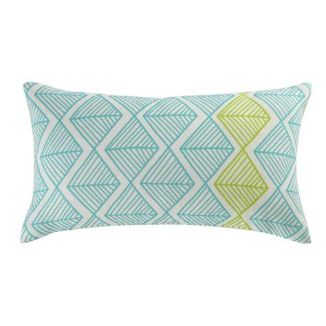 Outdoor Cushions 25 Jacara Outdoor Cushion In Blue Green 25 X 45cm Maisons
