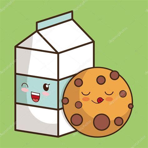 imagenes kawaii leche dise 241 o de habitaciones kawaii icono de leche y galletas