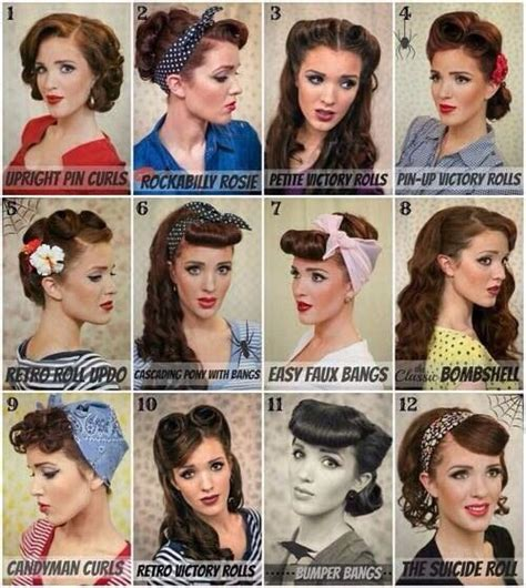 Classic Pin Up Hairstyles by 25 Best Ideas About Pin Up Hairstyles On
