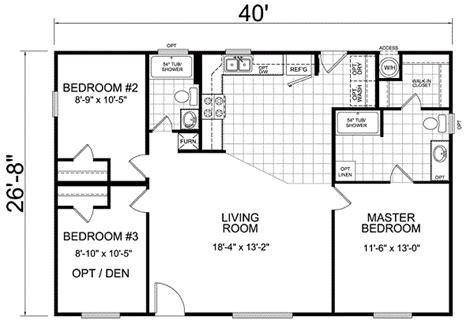wide trailer floor plans
