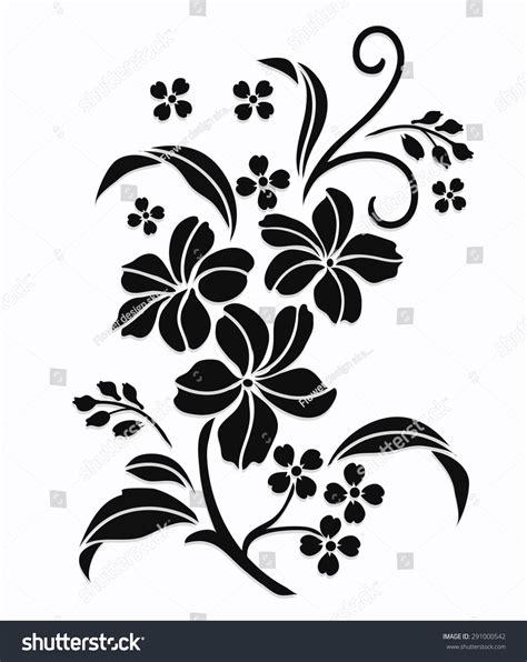 draw a pattern using flower as motif flower motif flower design elements vector flower design