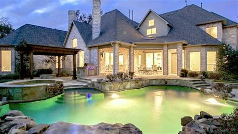 luxury homes my backyard could look like pinterest 35 best dallas homes images on pinterest dream homes