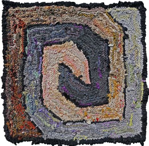 square rag rug 107 best rag rugs made in america images on rag rugs knitted rug and o neil