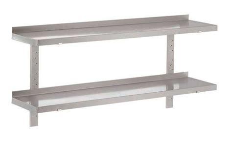 etagere en inox pour cuisine etag 232 res sur cr 233 maill 232 res pleines en inox ferritique 1200x300 mm stl sarl www materiels