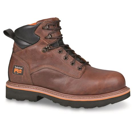 work boots for timberland timberland s pro ascender 6 quot alloy toe work boots