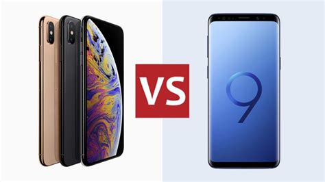 new iphone xs vs samsung galaxy s9 how does apple s new flagship compare t3