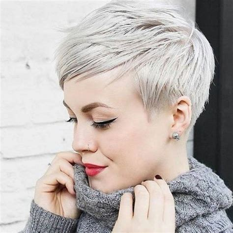 cuts styles best 25 platinum pixie ideas on