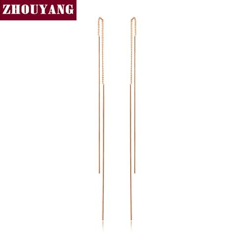 Line Simple Quality aliexpress buy top quality simple ear line gold color stud earrings jewelry made with