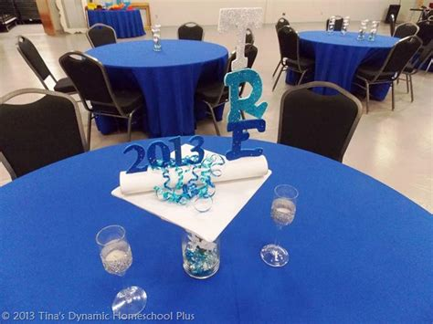 Decorating Ideas For High School Graduation High School Graduation Table Decorations Photograph