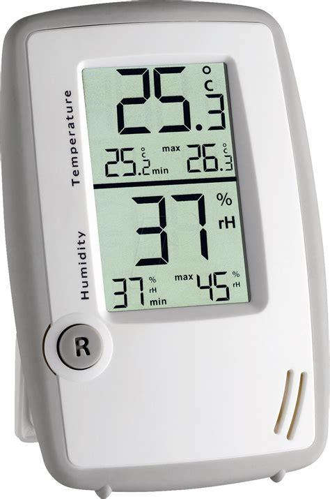 Hygrometer Thermometer Digital Ruangan Tfa Dostmann Germany ws 5015 electronic thermo hygrometer at reichelt elektronik