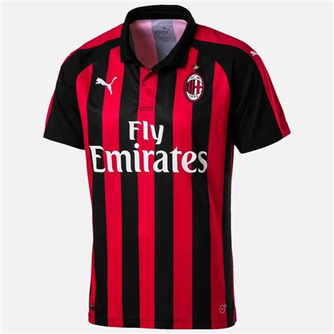 Ac Milan 19 ac milan 2019 les nouveaux maillots de football de