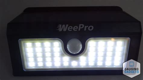 solar light review weepro outdoor solar light review gauging gadgets