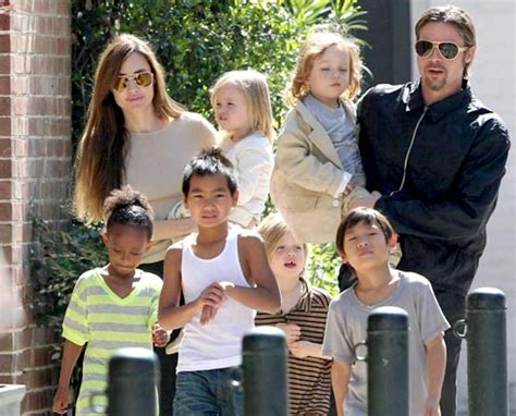New Photo Of The Pitt Family by I Live For Brad Pitt Entertainment