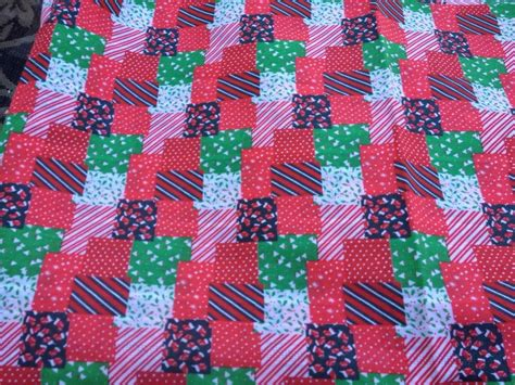 Patchwork Print Fabric - 1 yard of vintage patchwork print cotton fabric