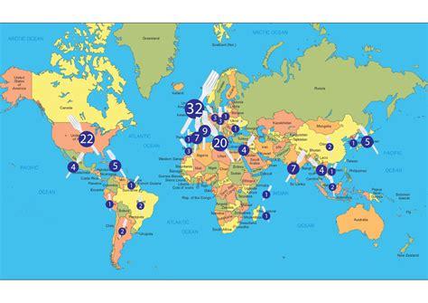 the big food world map streat