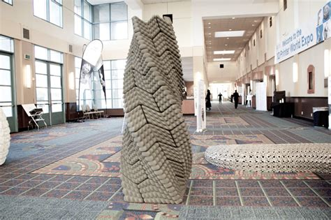3D Printed Quake Column Draws On Ancient Incan Building