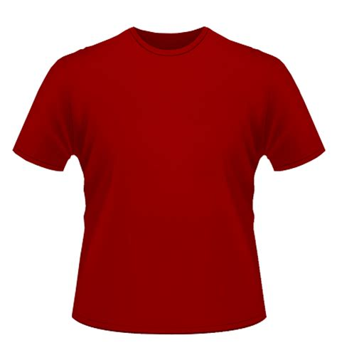 Kaos Merah by Design Kaos Polos Merah Clipart Best