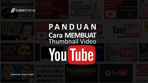 cara membuat video tutorial di youtube cara membuat thumbnail video youtube yang tepat dan ideal