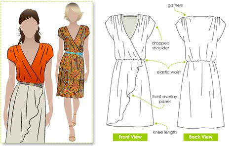pattern review style arc stylearc mia dress