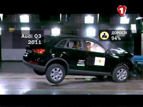 Audi Q3 Crash Test by Audi Q3 Crash Test