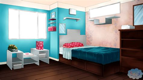 Background Bedroom by Visual Novel Bedroom Background 1 By Sky Morishita On