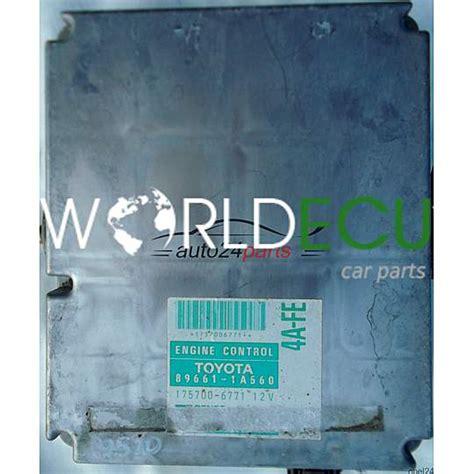 277 Ecu Engine Controle Unit Toyota Camry 5s Fe ecu engine controller toyota corolla 1 6 4a fe 89661 1a560 896611a560 175700 6771 1757006771