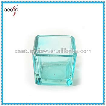 Teal Votive Candle Holders by Blue Square Votive Teal Candle Holders Buy Teal Candle