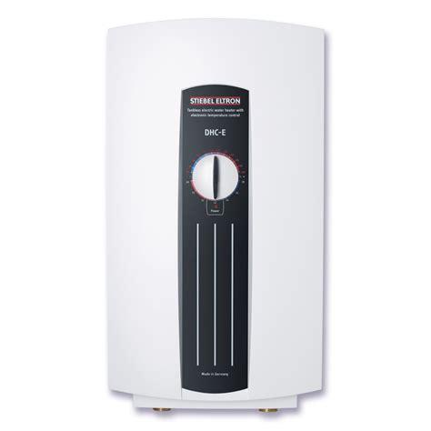 stiebel eltron dhc e 8 tankless water heaters