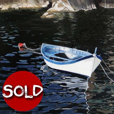 boat painting brisbane seascapes marine art buy art art for sale brisbane