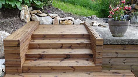 un escalier ext 233 rieur en bois comment le choix