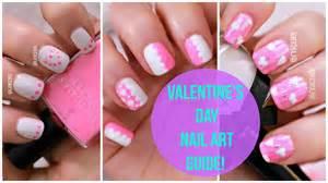Diy cute beginners nail art 21 valentines day pink designs