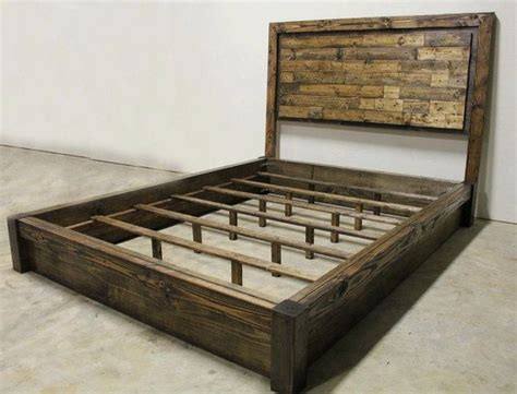 Rustic Platform Bed With Drawers by Rustic Platform Bed With Drawers Home Decor Ideas