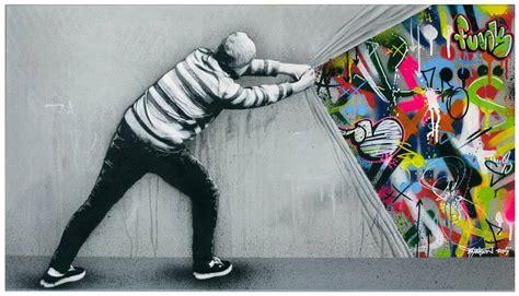 stencil graffiti murals  martin whatson fubiz media