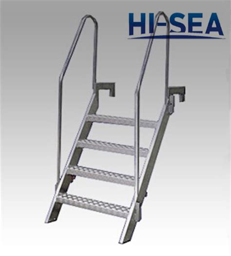 boat ladder aluminium aluminum bulwark ladder supplier china marine ladder