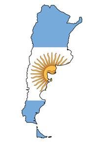 Argentina Flag Outline by Country Flag Meaning Argentina Flag Pictures