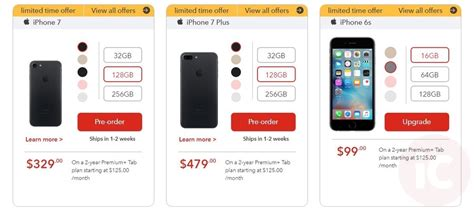rogers fido iphone 7 pre orders live start at 399 on